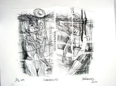 Submersivos - Litografia