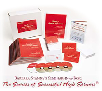 Secrets of Successful High Earners Seminar For Women