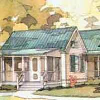 House Plan Thursday: A Classy Commune... Coastal Living plan SL 358!