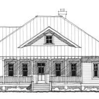 Featured artist john matthew moore for Inlet retreat house plan