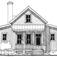 House Plan: Red Bluff by Allison Ramsey Architects