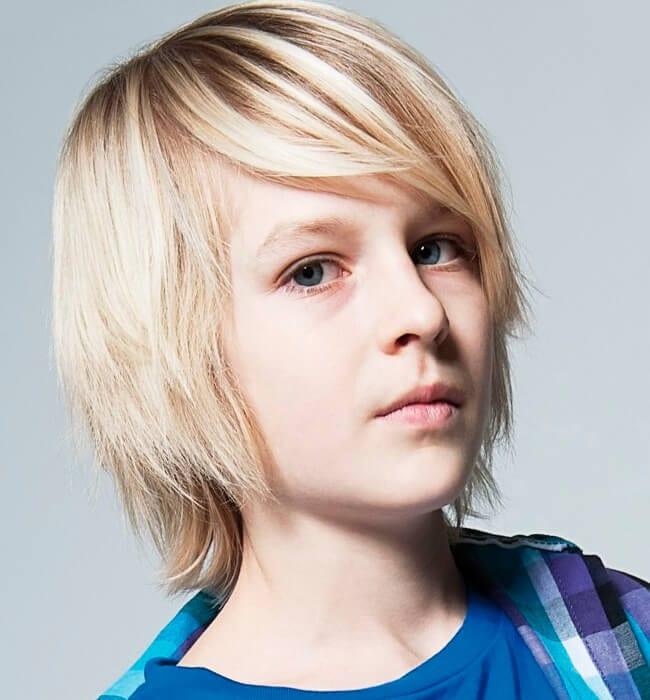 Boy Haircut Short Sides Long Top Fresh Mens Hair