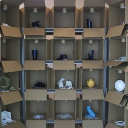 Visible Storage Area IV, The Division Museum of Ceramics and Glassware, 2008, Redling Fine Arts, Los Angeles, CA