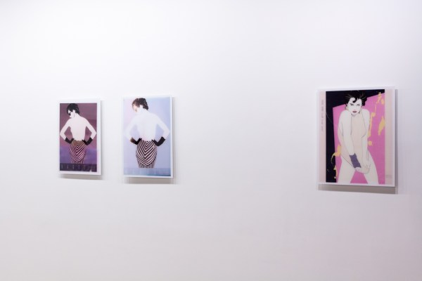 Barb Choit: Nagel Fades, 2009, Rachel Uffner Gallery, New York, NYInstallation view.