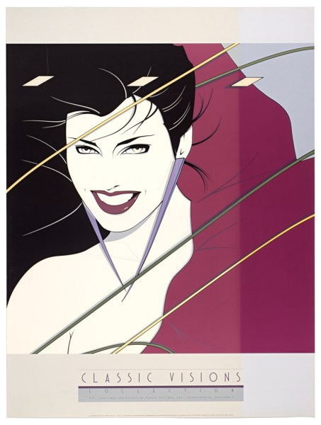 Patrick Nagel, Rio, Fine Art Poster, UV Exposure Time Two Weeks #2, 2009, digital c-print, 24 x 32 inches, 61 x 81 cm