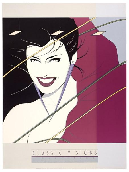 Patrick Nagel, Rio, Fine Art Poster, UV Exposure Time Two Weeks #2, 2009, digital c-print, 24 x 32 inches, 61 x 81 cm