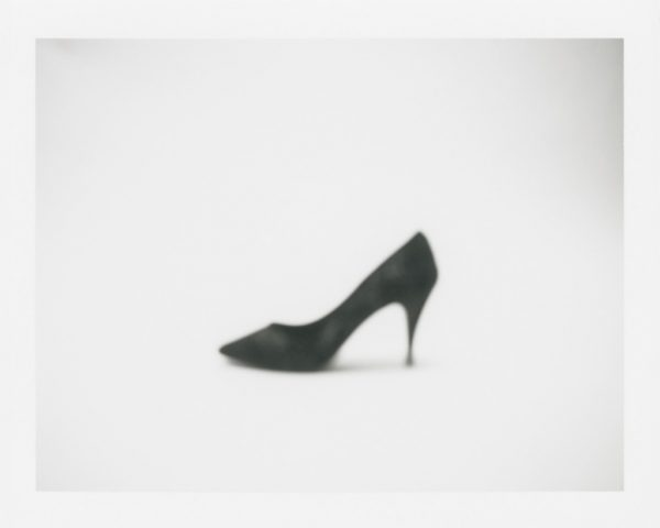 "Barb Choit, ""Shoe #1,"" 2015, Fujifilm FP-100c instant film, 3.25 x 4.25 inches"
