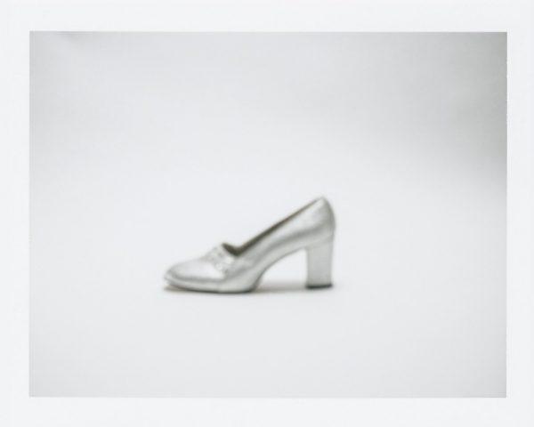 "Barb Choit, ""Shoe #2,"" 2015, Fujifilm FP-100c instant film, 3.25 x 4.25 inches"