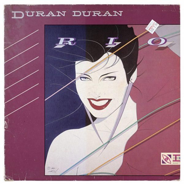 Duran Duran, Rio, Album Cover, UV Exposure Time Three Months, 2009, digital c-print, 13 1/4 x 13 1/4 inches, 34 x 34 cm.