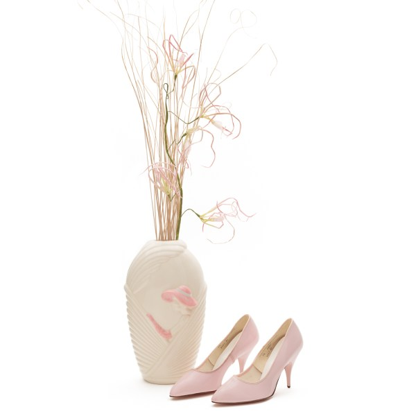 Vintage Pink Stilettos Size 7.5 | Narrow Women