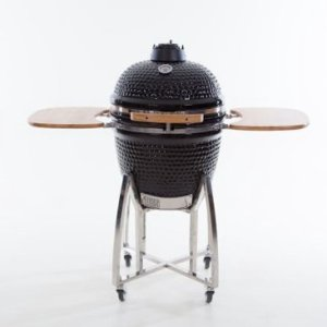 BBGrill: Keramische Kamado Barbecue ø51 cm - Zwart