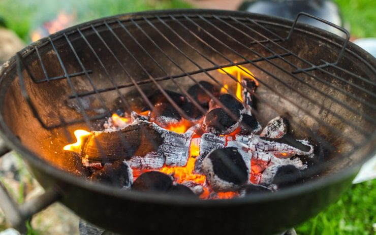 How to Light a Charcoal or Wood Grill