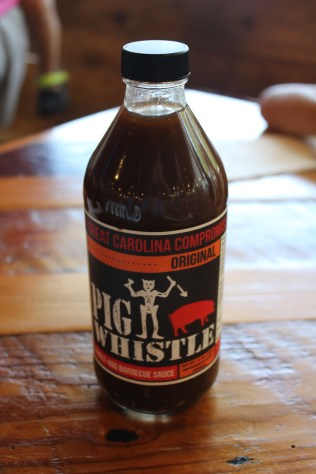Pig Whistle table sauce