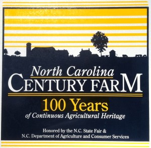 North Carolina Century Farm