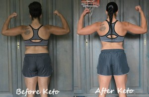 keto diet results back