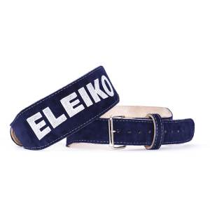 blue eleiko weightlifting belt