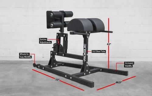 Gym gear image, Rogue GHD