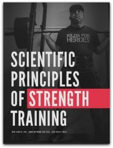 Scientific principles of strength training cover