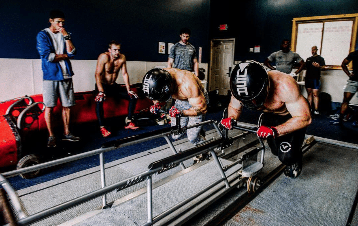 Power And Ice The Training Routine Of The U S Olympic