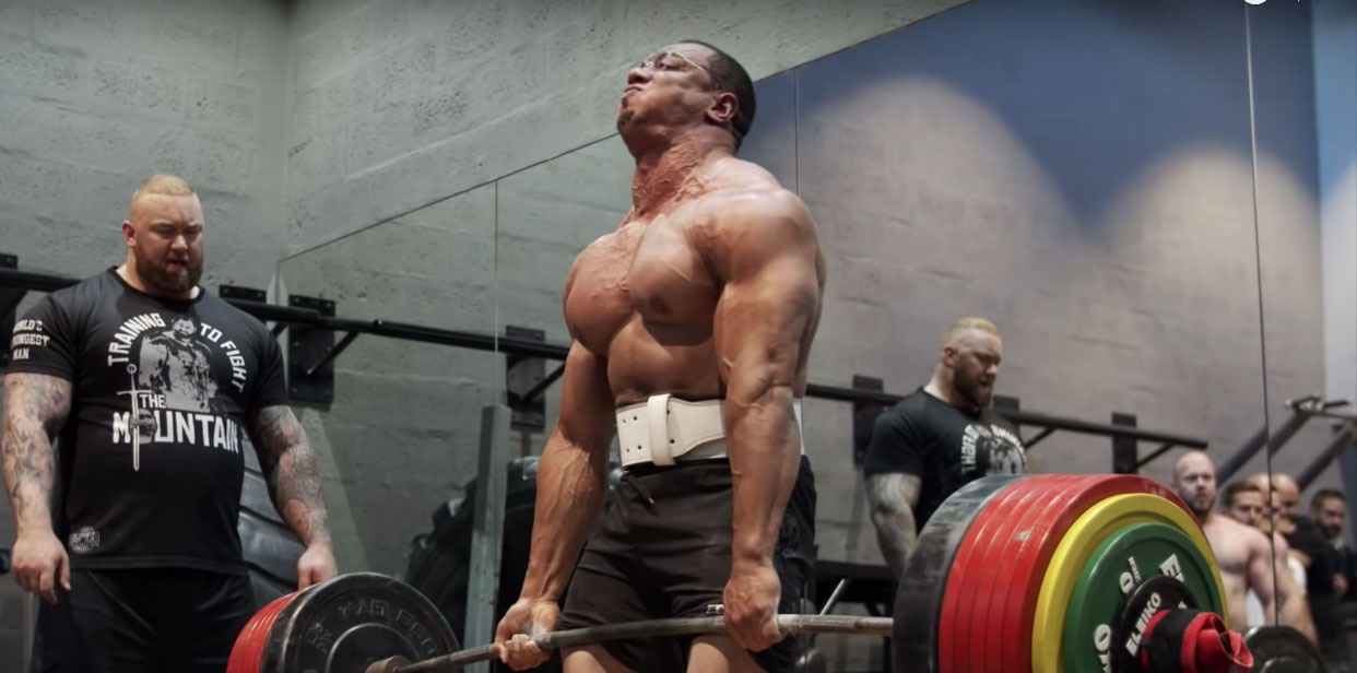 How Many 800lb Deadlifts Can Larry Wheels Make In A Set
