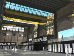 Boxpark Amsterdam concept