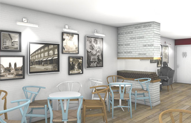 inside the new Simmons Bakery flagship store