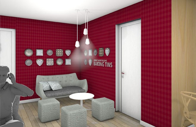 visualisation design for Simmons Bakery