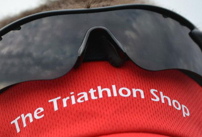 The Triathlon Shop branding