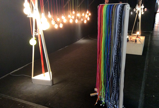 Nud Lighting at Euroshop