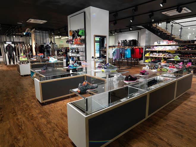 zones in the retail interior