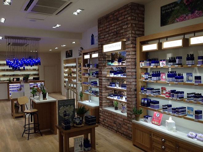Inside the Neals Yard Store