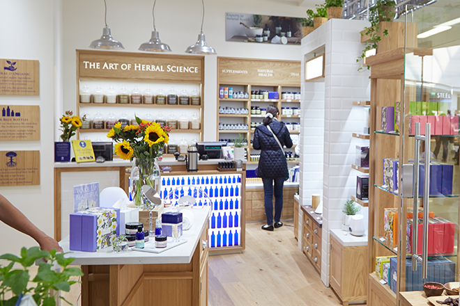 New Neal's Yard Store in Birmingham