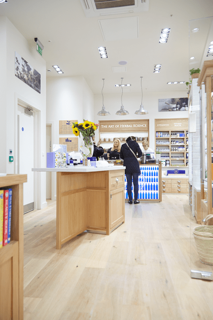 New Neal's Yard Store at Grand Central