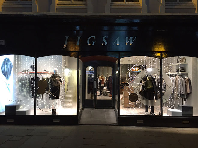 Jigsaw store opening in Shrewsbury