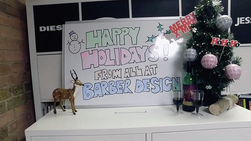 Happy Holidays from Barber