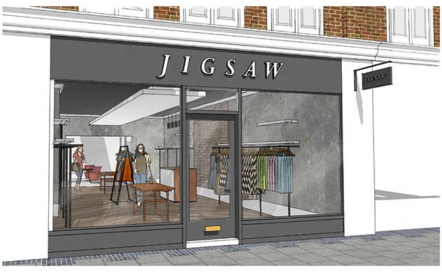 Jigsaw store designs