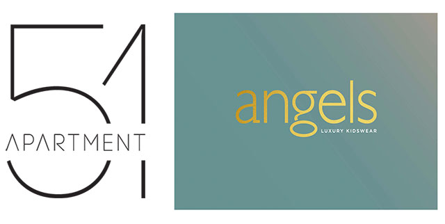 Angels and Apartment 51 branding designs