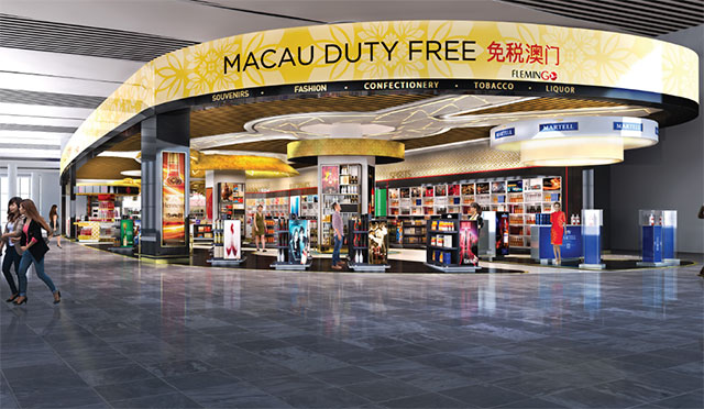 Macau Duty Free visuals