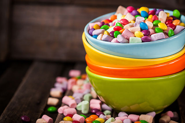 A bowl of sweets