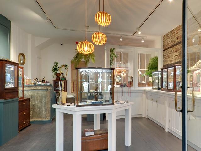 Alexis Dove jewellery store interior