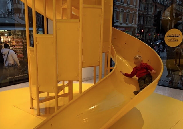 Yellow Slide photo by Jonathan Dibble on Google Maps