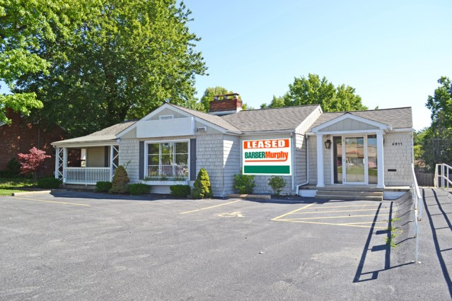 small white office building in belleville illinois leases to association for education excellence