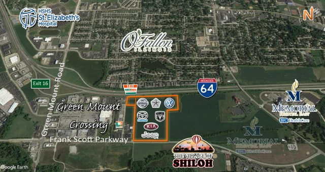 development site purchased by auffenberg auto mall