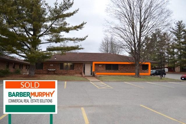 brick office condo space in copper bend office park in belleville illinois