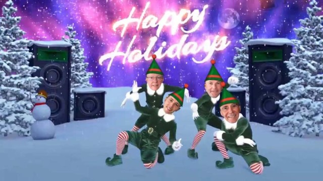 Season's Greetings and Happy Holidays! BARBERMURPHY Principals Elf Yourself 2018 Cover Image