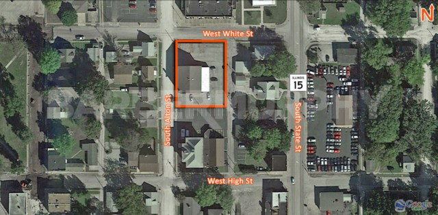 Site Map of 5 South Alton St., Freeburg, IL 62243, Investment, Apartment Building for Sale