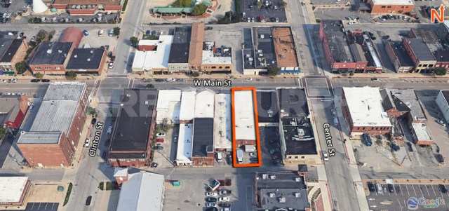 Site Map for 110 West Main St., Collinsville, IL 62234, Storefront Retail for Sale