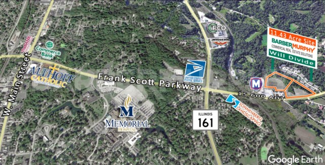 Area Map for Mixed Used Development Site, Commercial | Multi-Family Sites