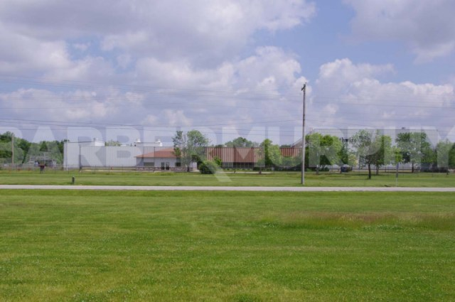 Exterior Image of Building for Crane Served Heavy Manufacturing Facility, 11037 Old Hwy 50, Flora, Illinois 62839