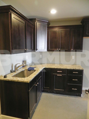 Kitchenette for 4,800 SF Office/Warehouse for Sale, 18 Schiber Crt, Maryville, IL 62062